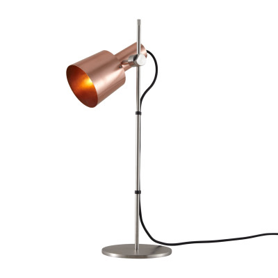 Chester Table Lamp Satin Copper