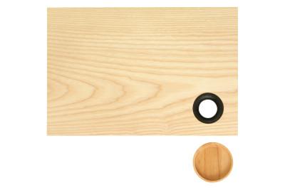 Chopping Board Charred Oak Ring, Large