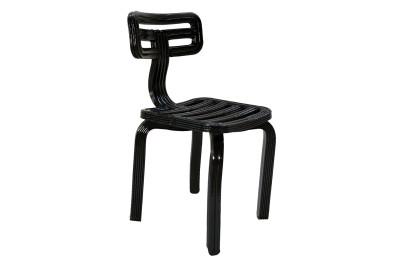 Chubby Dining Chair Black