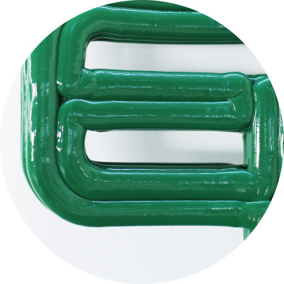 Detail of Chubby Chair, Green