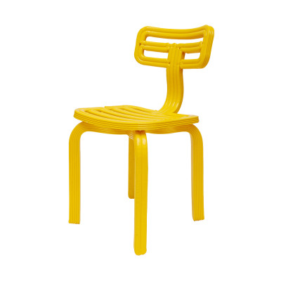 Chubby Dining Chair Yellow