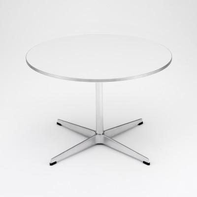 Circular Coffee Table Walnut Veneer, 47/90