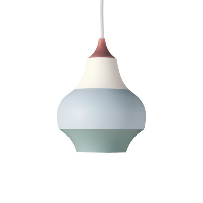 Cirque Pendant Light Copper Top, 38