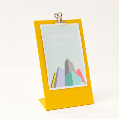 Clipboard Frame Large Clipboard Frame Large Yellow
