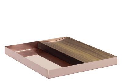 CM04 Ito Rectangular Tray Polished Copper