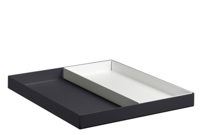 CM04 Ito Rectangular Tray Jet Black