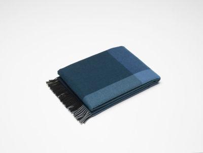 Colour Block Blankets black-blue