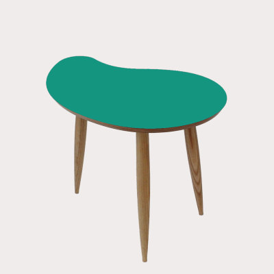Comma Side Table Teal