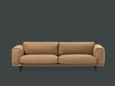 Compose 3 Seater Sofa Oak, Divina Melange 2 120