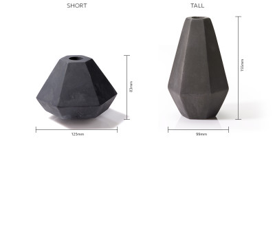 Concrete Candle Holder Dimensions