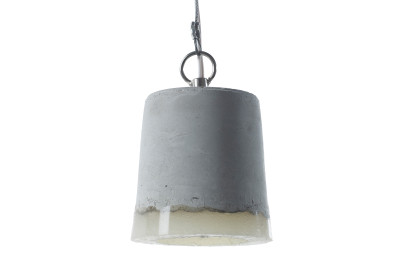 Concrete Pendant Light Small