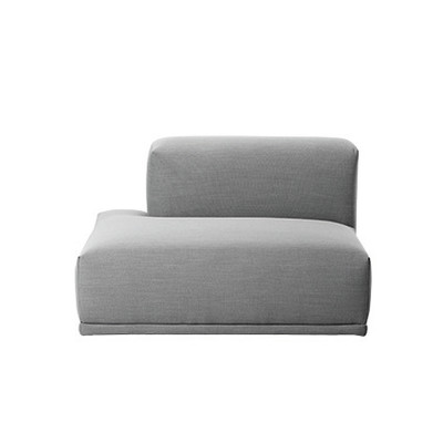 Connect Modular Sofa - Left Open ended Rime 591