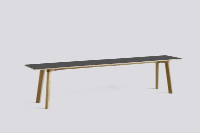 Copenhague Deux (CPH215) Bench Stone grey laminate, Matt Lacquer Oak, 200