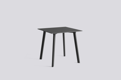 Copenhague Deux (CPH210) Square Dining Table Stone Grey Laminate Top, Stone Grey Beech Base