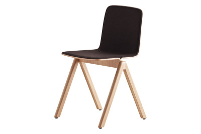Copenhague Upholstered Dining Chair CPH, Matt Oak Legs Surface by HAY 990