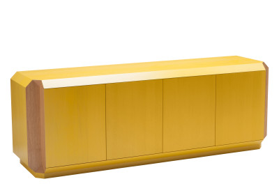Corner Sideboard with Doors Oak, 180cm