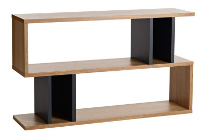 Counter Balance Low Shelving Charcoal