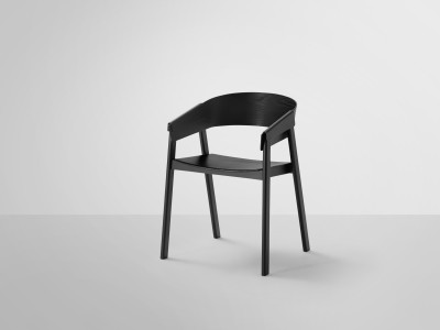 Cover Chair Wood Seat Black