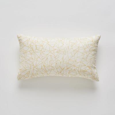 Cracked Ice Minor Mustard cushion 30x50cm