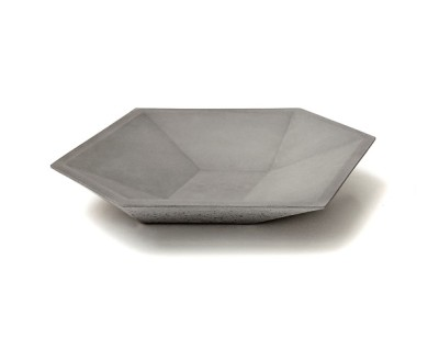 CUBE PLATE Concrete plate