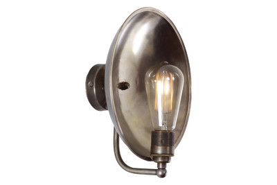 Cullen Wall Light Antique Silver