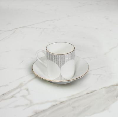 Curve Espresso Cup & Saucer  No. 2