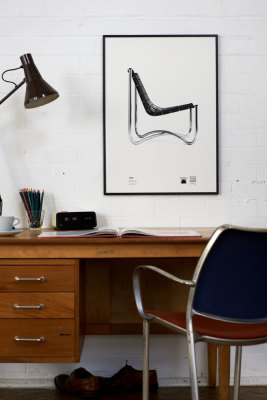 David Mellor Anniversary - 700 Series Chair Screen Print Without Frame