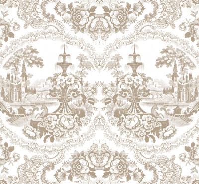 Delft Baroque Wallpaper - Beige