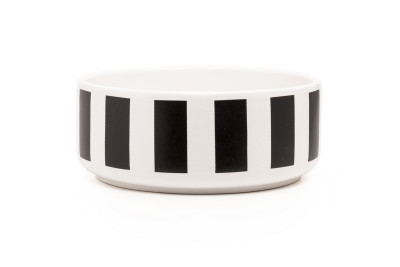 DIDO cereal bowl - stripes black