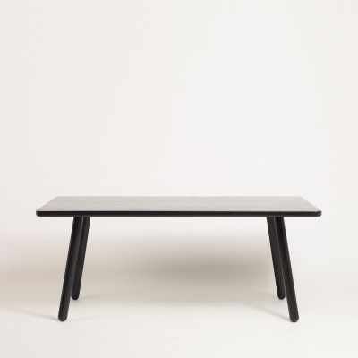 Dining Table One -  Rectangular Black, 220 cm Long
