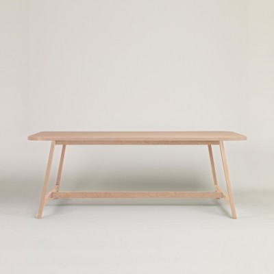 Dining Table Three Beech, 160 cm Long