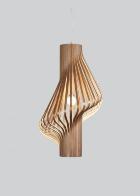 Diva Pendant Light Walnut
