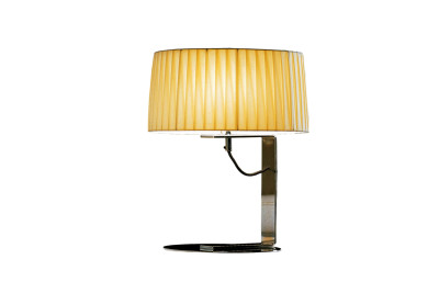 Divina Table Lamp White plissé