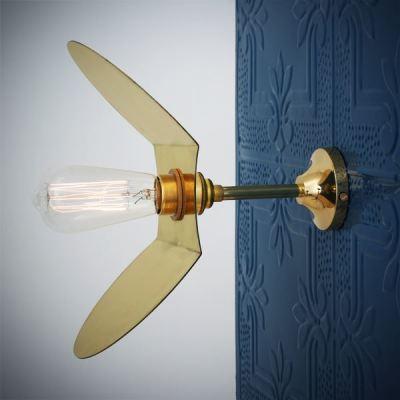 Dodoma Wall Light  Polished Brass