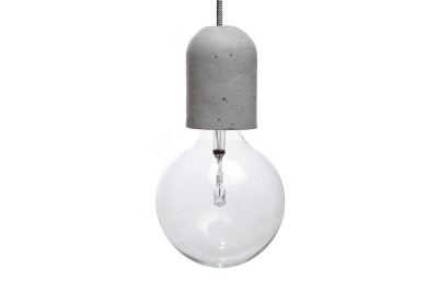 Dolio L Concrete Pendant Light 100 cm Cable Lenght