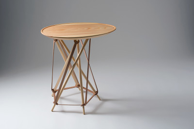 Dome Coffee Table Wood