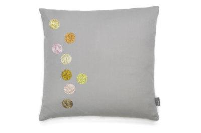 Dot Pillows light grey