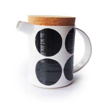 Dot Teapot Black