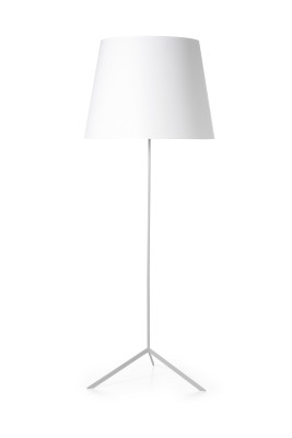 Double Shade Floor Lamp Black