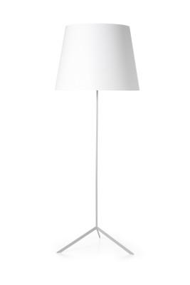 Double Shade Floor Lamp Black