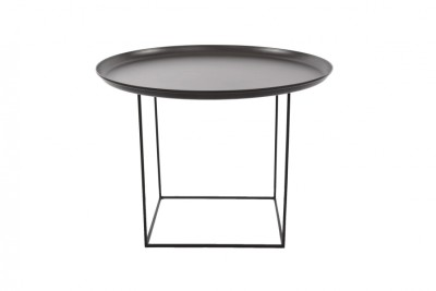 Duke Coffee Table Earth Black, Medium