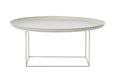 Duke Coffee Table Khaki Grey, Large