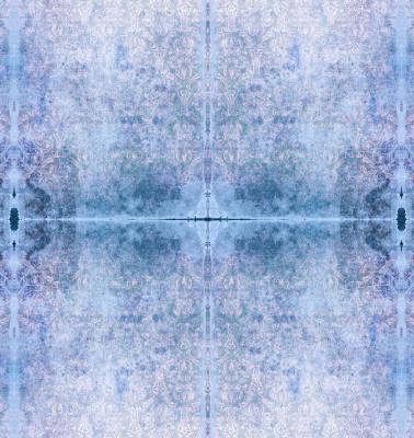 Duprez Misty Blue Wallpaper Sample (A4)