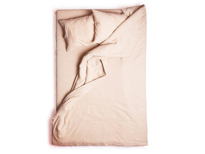Dusty rose linen duvet cover King/UK Super King 260x220cm