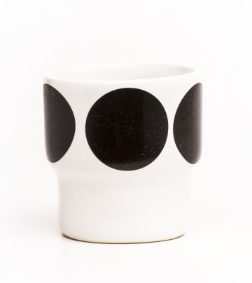Egg Cups - Set of 2 Black