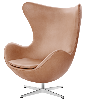 Egg Easy Chair Natural Leather Natural