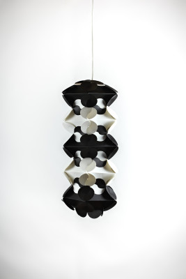 Ego Drac Pendant Lamp Shade Black and White