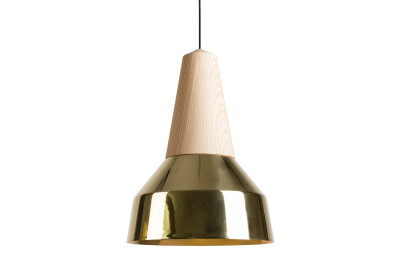 Eikon Ray Pendant Light in Ash and Gold