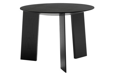 Elephant Coffee Table Black Stained Oak, Low
