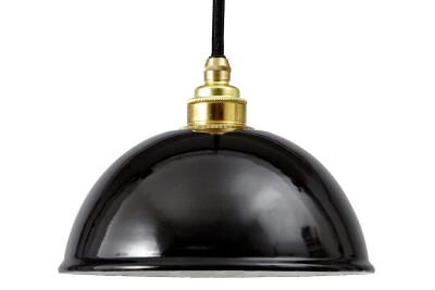 Emailleleuchte EM011 Black Cable